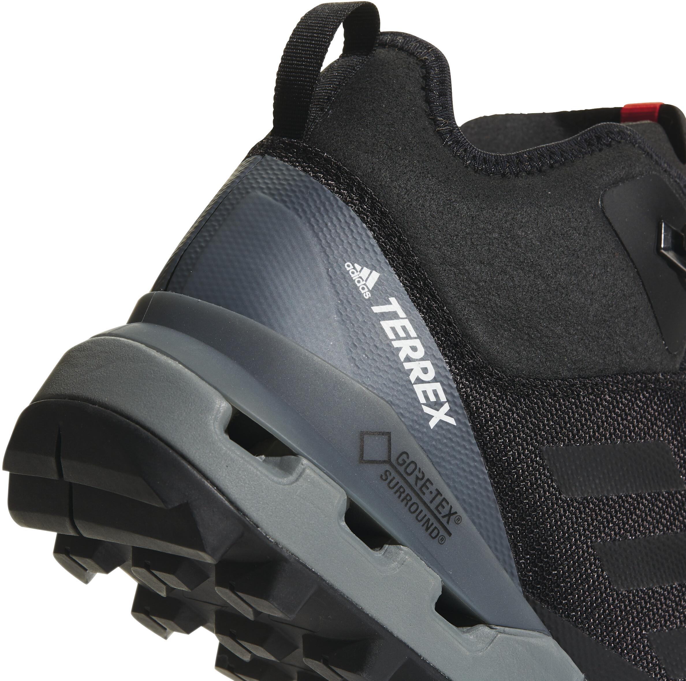 adidas TERREX Fast Mid GTX Shoes Men Core Black Core Black Vista Grey 16b0ab707